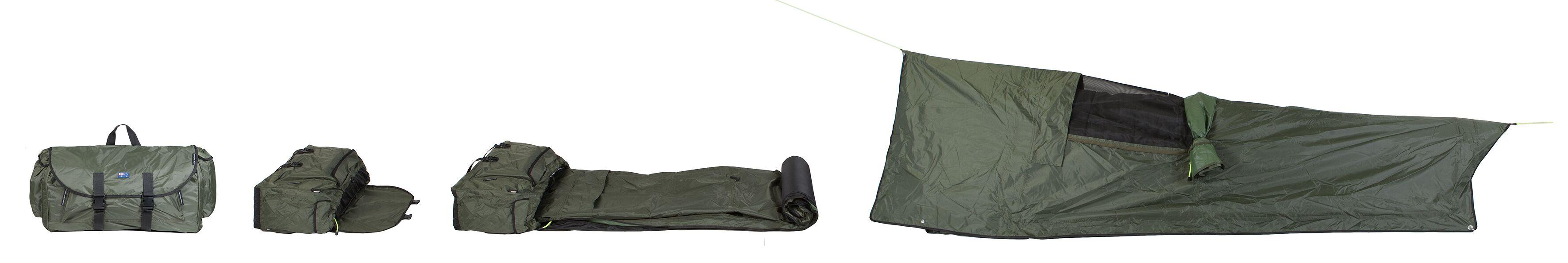 Backpacker bed