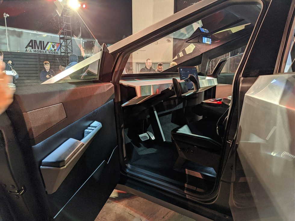 Inside the Tesla Cybertruck