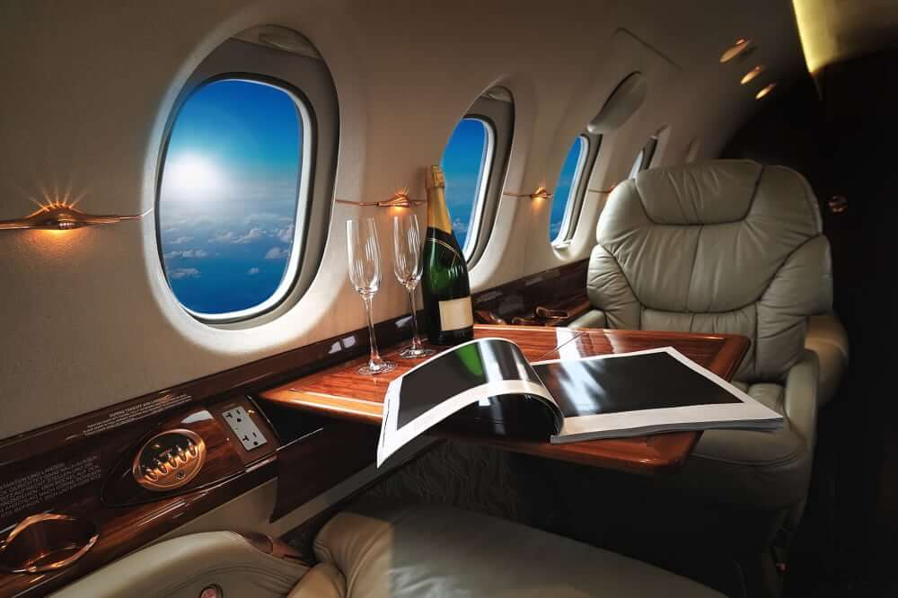 Own a private jet by playing US lotteries
